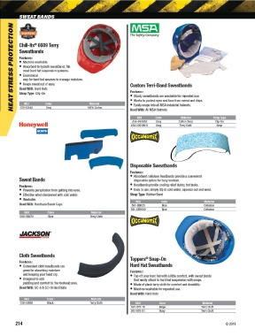 Page 214 - Armchem First Aid Safety Catalog