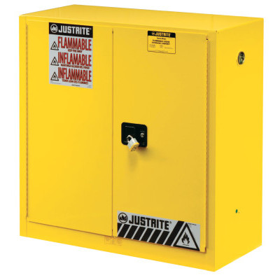 Justrite Yellow Safety Cabinets for Flammables 400-894520