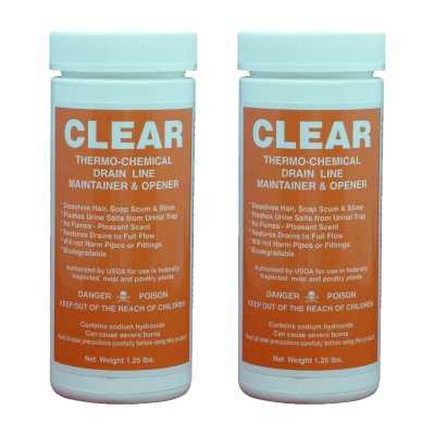 Clear 2 Canister Promotion